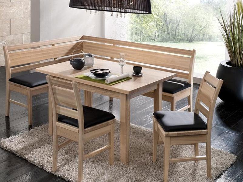Schösswender ISEO Essgruppe bestehend aus 1 Eckbank 2x Stuhl 1 ...