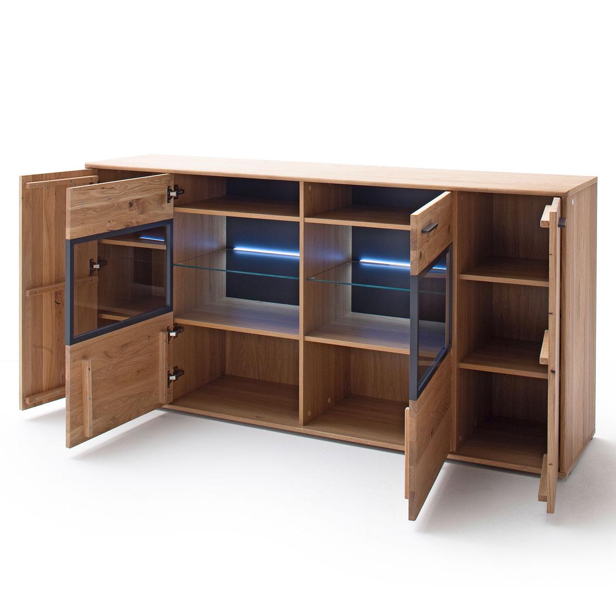 Mca Furniture Portland Sideboard Por17t01 Fur Ihr Wohnzimmer Oder Esszimmer Kommode Mit Zwei Turen Und Zwei