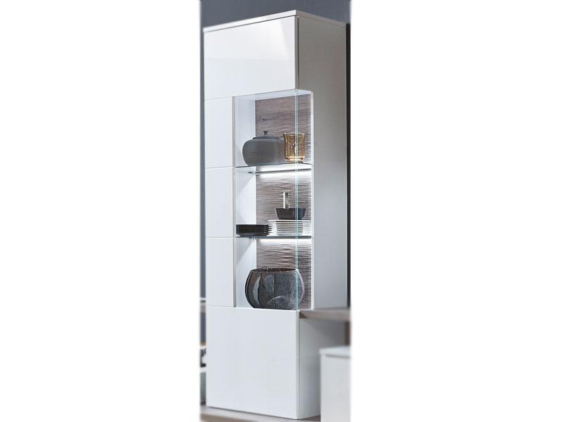 IDEAL Möbel Hängevitrine Nuna Type 27 Moderne Vitrine Für Ihr Wohnzimmer  Mit 1 Glastür In