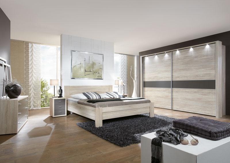 Schlafzimmer Donna Wiemann Kompaktbett mit Nachtkonsolen dazu ...