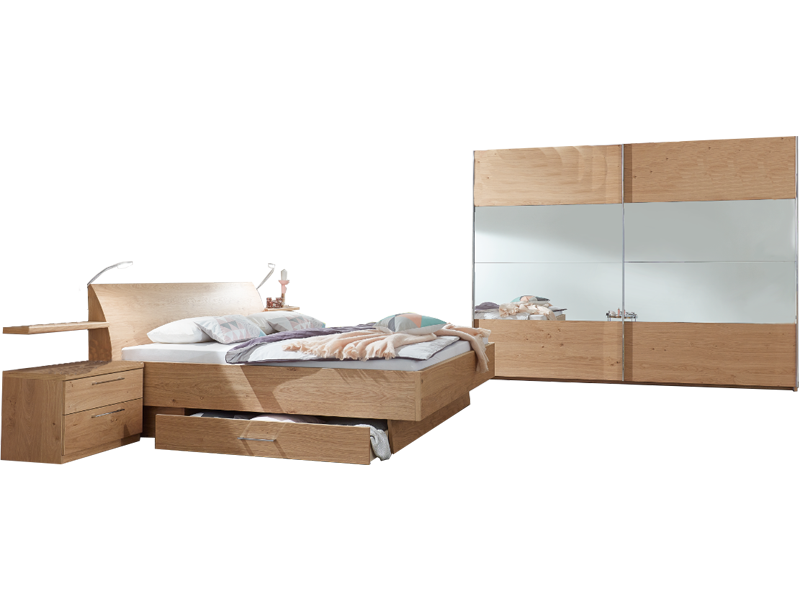 Disselkamp CD Studioline Schlafzimmer- Set bestehend aus Bett mit ...