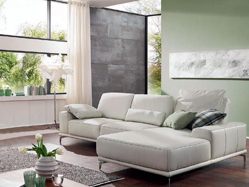 willi schillig wei es ecksofa in leder sixty sixx 16550 kombination bestehend aus sofa gro und. Black Bedroom Furniture Sets. Home Design Ideas