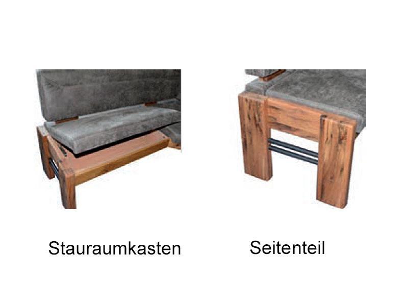 K+W Möbel Esstischgruppe 4116 Silaxx Floyd mit Tisch, Eckbank und ...