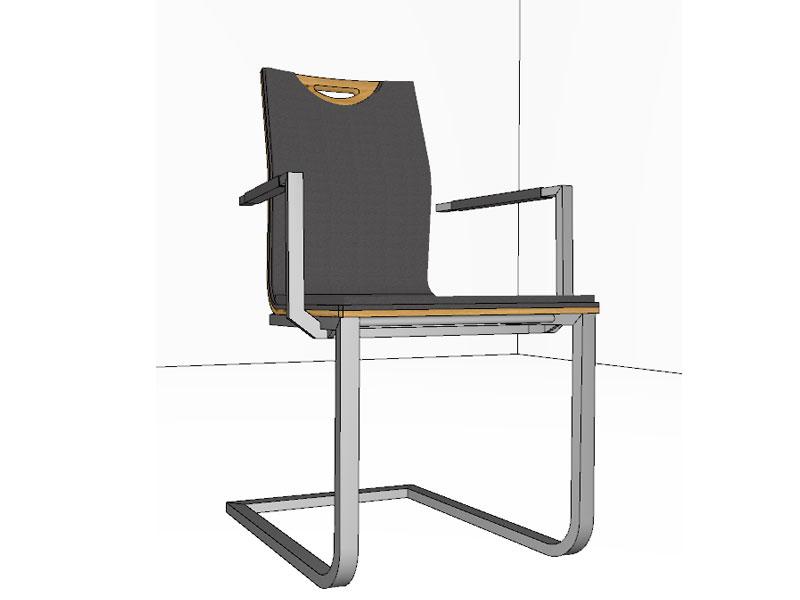Stuhl Lena Von Gwinner Schwingstuhl Stuhl 197 Mit Griff Und