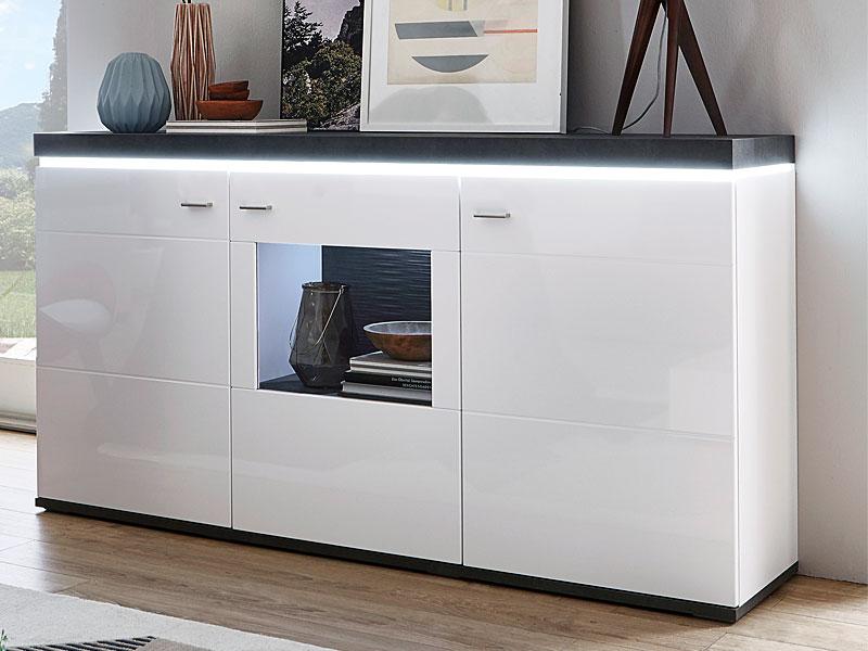 ideal m bel karajol sideboard type 51 moderne kommode f r ihr wohnzimmer oder esszimmer mit 2. Black Bedroom Furniture Sets. Home Design Ideas