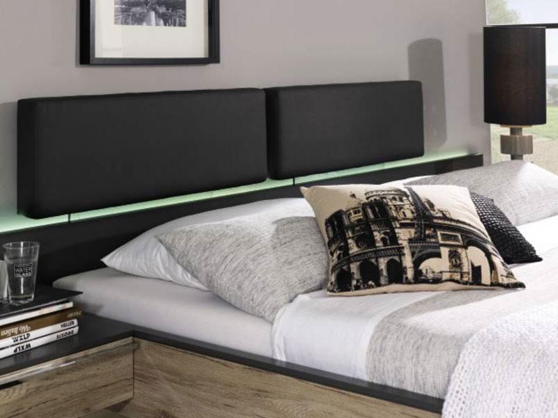 Rauch Bett Colette Dialog für Schlafzimmer mit Paneel-Kopfteil ...