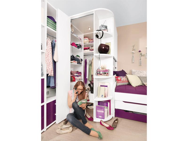 Wellemöbel Unlimited Jugendzimmer Eckschrank 84599 - Kaufen bei ALCO ...
