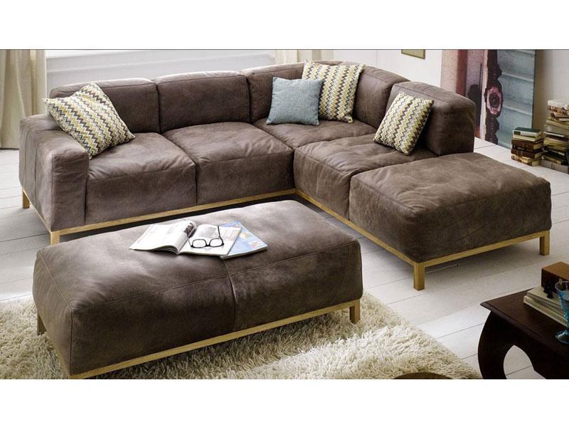 K+W Möbel Lounge 7467 Ecksofa Sofagarnitur Sofa 2, 5-Sitzer und ...