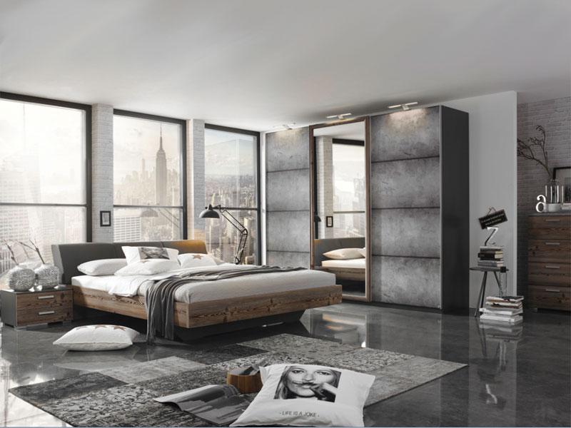 Rauch Select Streetway 2-teiliges Schlafzimmer Schwebetürenschrank ...
