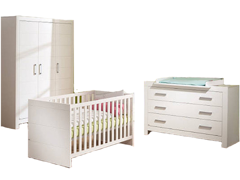 Paidi Fiona Babyzimmer Bestehend Aus Kinderbett Kleiderschrank 3t