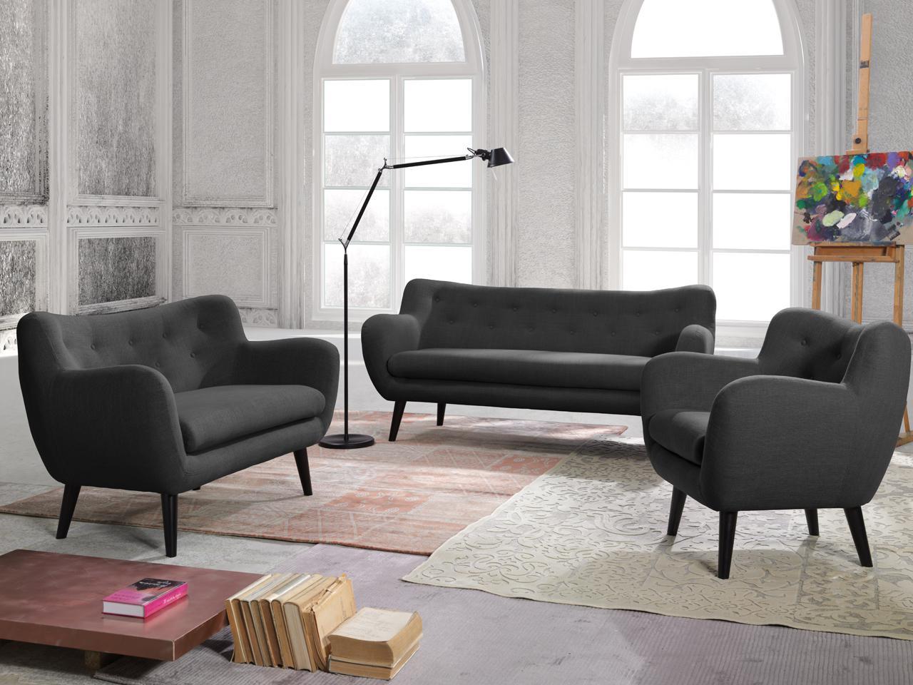 New Look Polstergarnitur George Bestehend Aus Sessel 2 Sitzer Sofa