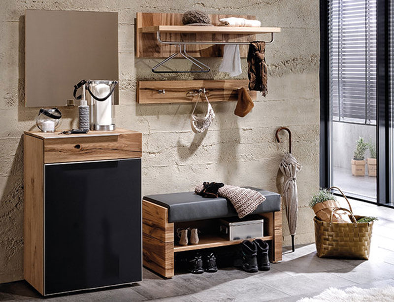 voglauer v alpin dielenvorschlag 14 mit kommode spiegel. Black Bedroom Furniture Sets. Home Design Ideas