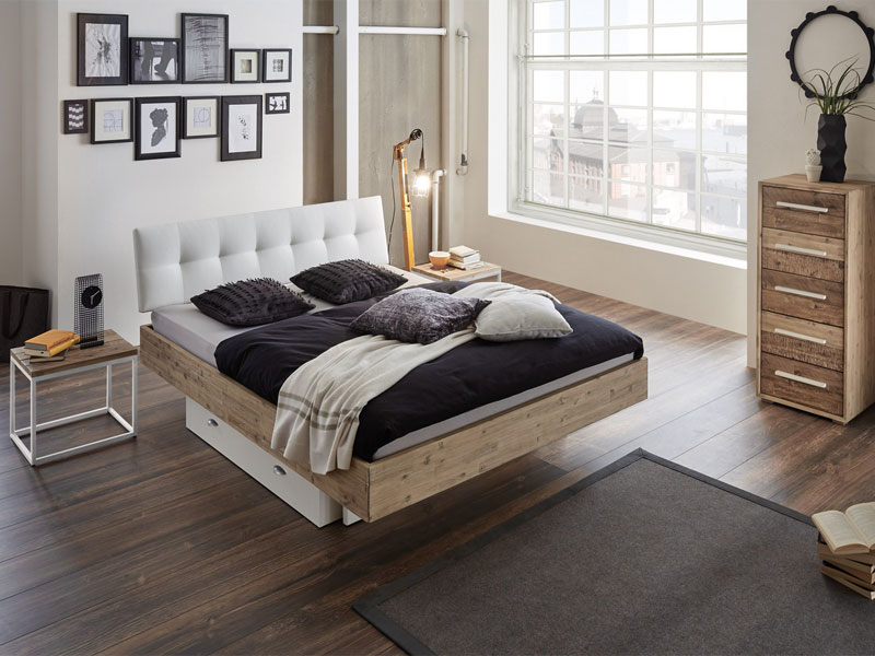 hasena bett factory chic bettrahmen fremo 18 kopfteil. Black Bedroom Furniture Sets. Home Design Ideas