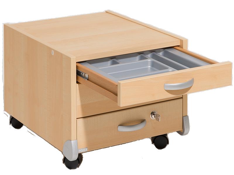 Paidi Schoolworld Universal Container mit 3 Schubkästen für Schreibtisch  Marco 2 in verschiedenen Farben wählbar