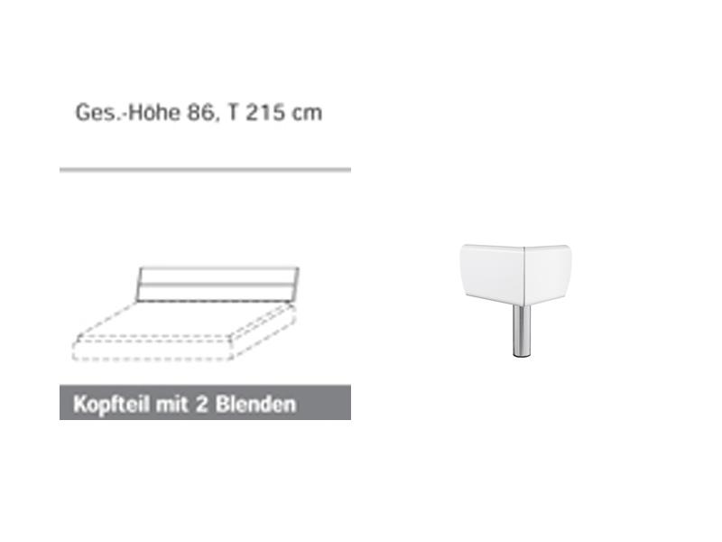 Rauch Select MAVI-Plus Bettrahmen Kopfteil Hochglanz Relaxhöhe MAVI ...