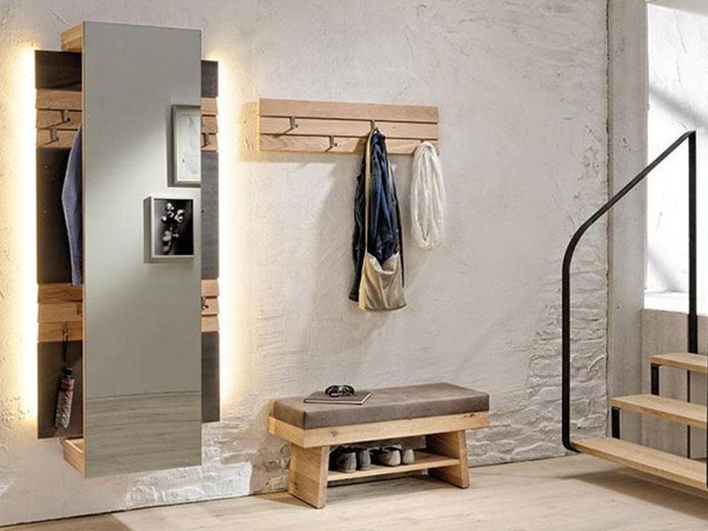 voglauer v organo dielenvorschlag 25 dreiteilige kombination in wildeiche rustiko schwarz f r. Black Bedroom Furniture Sets. Home Design Ideas