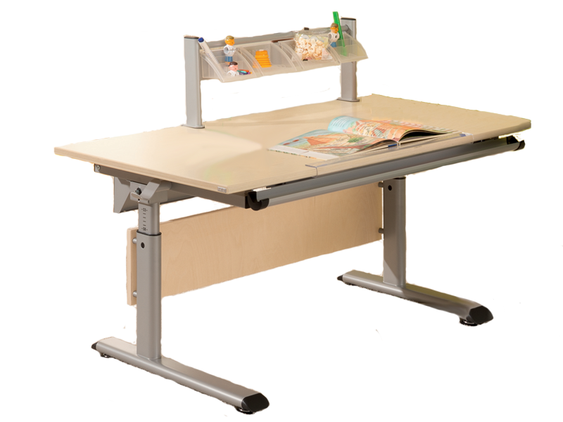paidi schoolworld marco 2 140 schreibtisch in birke multiplex ausf hrung optional mit weiteren. Black Bedroom Furniture Sets. Home Design Ideas
