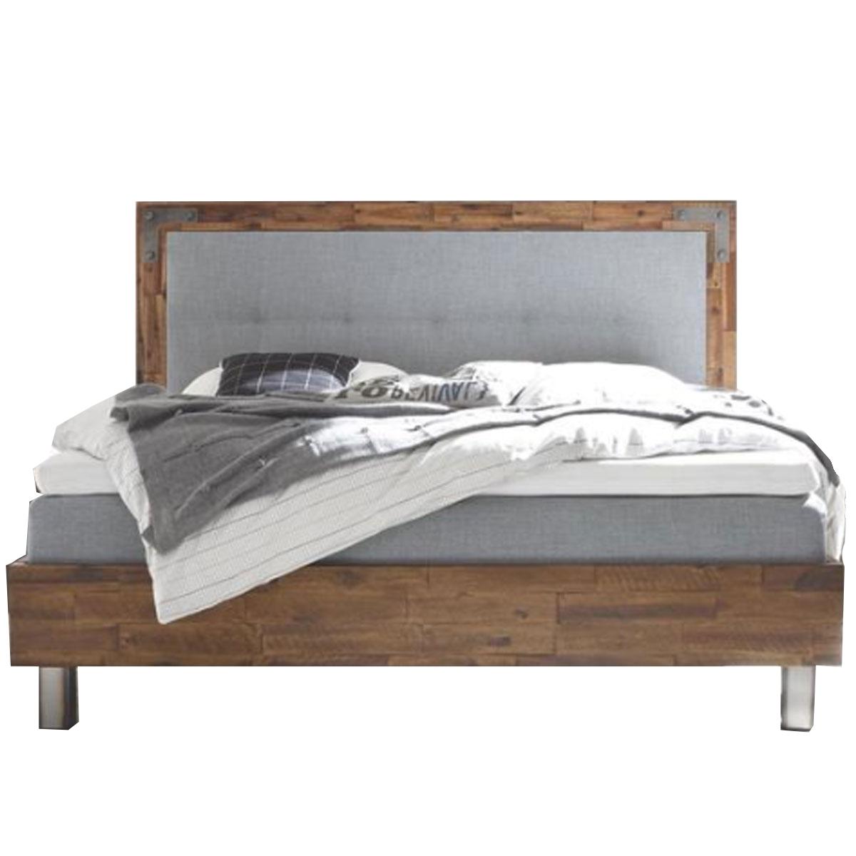 Hasena Factory-B Bett bestehend aus Bettrahmen Dallas 23-B Kopfteil ...