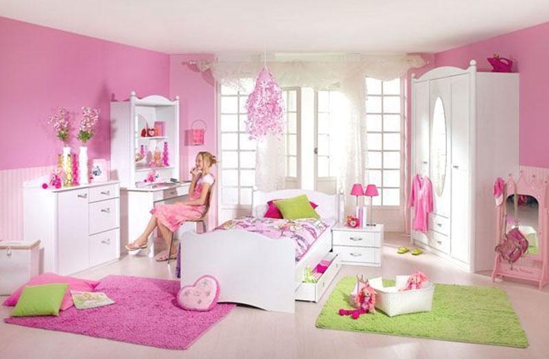 Rauch Packs Lilly Kinderzimmer 5 Teilig Inkl Bett Mit Nachttisch