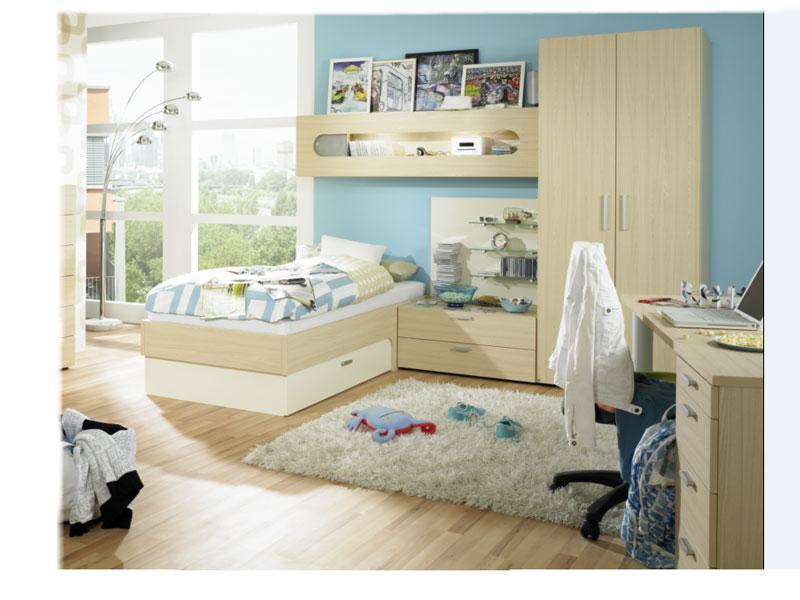 rudolf m bel max i jugendzimmer maxi 6 teilig mit bett kleiderschrank schreibtisch h ngeregal. Black Bedroom Furniture Sets. Home Design Ideas