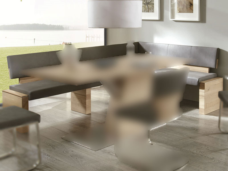 wimmer acerro eckbank mit r ckenlehne ca 190 x 150 cm sitzfl che und r cken fest gepolstert mit. Black Bedroom Furniture Sets. Home Design Ideas