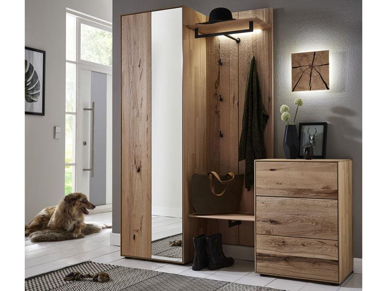 hartmann talis garderobe vorschlagskombination 104 vierteilig aus massivholz riffbuche geb rstet. Black Bedroom Furniture Sets. Home Design Ideas