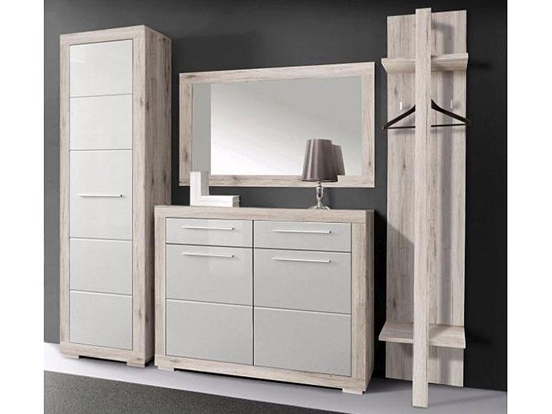 Forte Atrium Garderobe Atrd02 Für Ihren Flur Garderobenset 4 Teilig