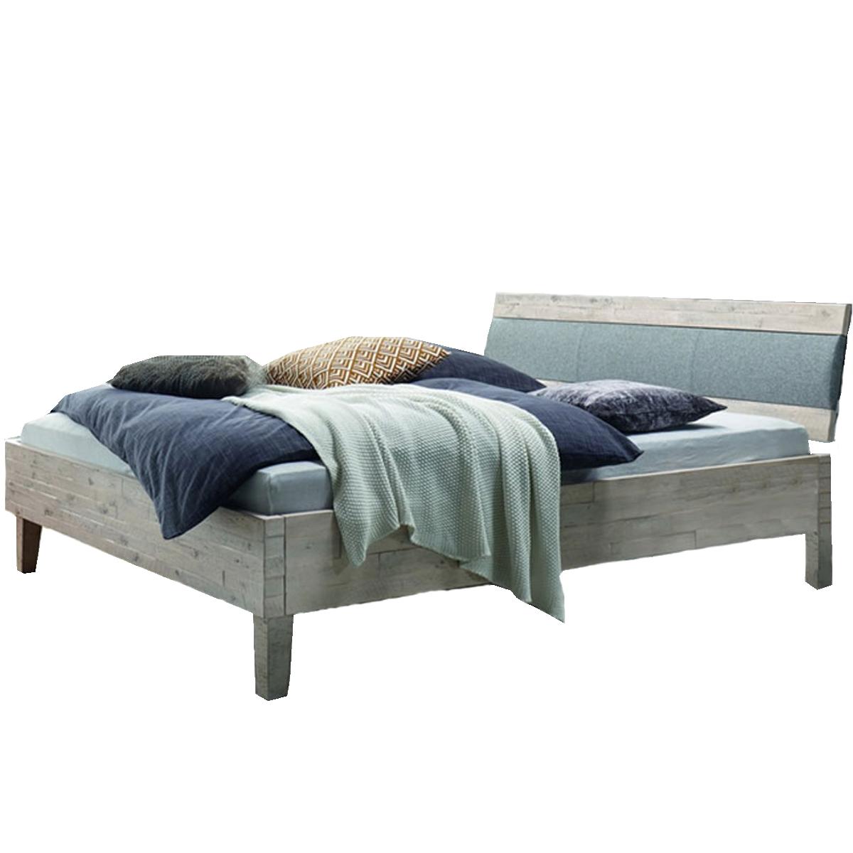 Hasena Factory-Line Bett bestehend aus Bettrahmen Dallas Kopfteil ...