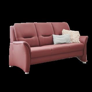 Polinova Sofa PN-PF19167 3-Sitzer mit Federkernpolsterung optional mit motorischer Vorziehbank für mehr Sitztiefe