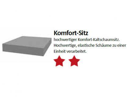 Standard Furniture Schwingstuhl Kadira mit Komfort-Kaltschaumsitz Polsterstuhl für Wohnzimmer oder Esszimmer Gestellausführung und Bezug wählbar - Vorschau 3
