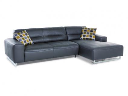Schillig Willi Ecksofa William 20560 Sofa 2-sitzig Sitzauszug per Motor gegen Aufpreis wählbar + Longchair Stellvariante wählbar in Stoff oder Leder