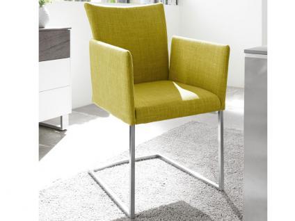 MWA Aktuell Stuhlsystem Luana aus der Linea Dining Serie Polsterstuhl für Esszimmer Gestell Ausführung und Bezug wählbar