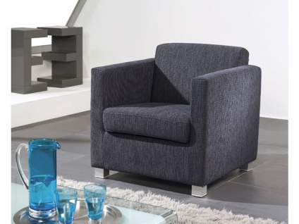 Ewald Schillig Lido Einzelsessel Sessel verschiedene Typen für Wohnzimmer in Stoff oder Leder wählbar