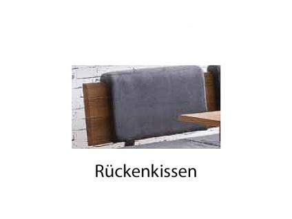 Standard Furniture Truhenbanksystem Stockholm Sitzbank mit oder ohne Rückenlehne wählbar Massivholz in 3 Holzausführungen Größe und Bezug wählbar Bank für Ihr Esszimmer oder Gaderobe - Vorschau 3