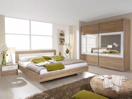 Rauch Packs Venlo Schlafzimmer Vorzugskombination 4-teilig bestehend aus Schwebetürenschrank 2-türig und Bettanlage inklusive 2 Nachttischen