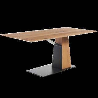 S-KULTUR by Wöstmann Säulen-Esstisch Craft Tischgröße und Ausführung Tischplatte massiv oder furniert wählbar