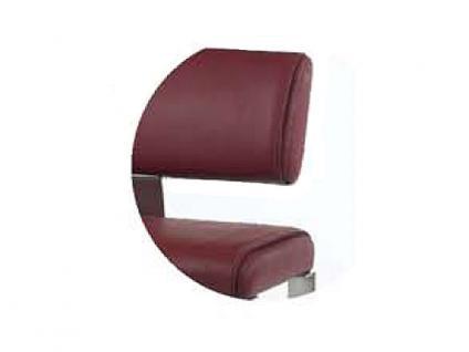 MWA Aktuell Como Sitzbank in Kunstleder oder Echtleder wählbar Bank wahlweise mit oder ohne Rückenlehne Größe wählbar - Vorschau 5