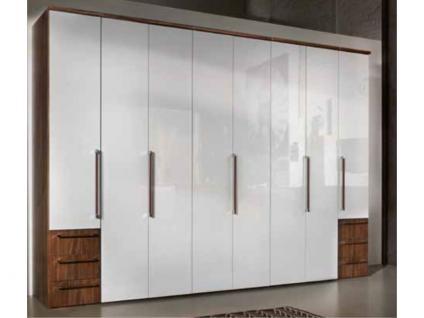 Nolte Horizont 7000 Dreh-/ Falttürenschrank in verschiedenen Dekoren wählbar 8-türig mit 6 Schubkästen in Korpusfarbe