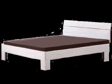 Neue Modular Serino Bett mit Kopfteil Perito und Füße Tufo Liegefläche 180x200 cm