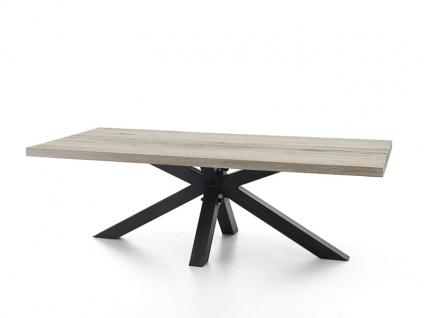 Bodahl Chicago Esstisch rustic oak mit gerader Kante Massivholz Tisch ca. 110 cm breit Speisezimmertisch in sechs Längen und sieben Ausführungen wählbar