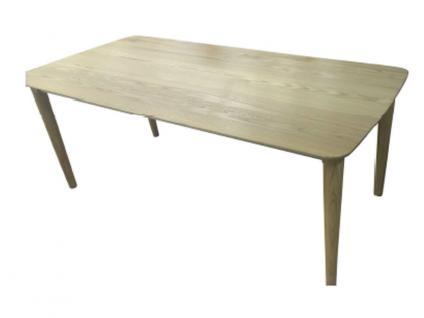 DKK Klose Esstisch T53 Massivholzarten wählbar 5310 Tisch für Esszimmer rechteckige Platte ausziehbar Gestell wählbar
