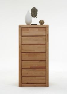 ELFO Kommode DELFT, Beimöbel Massivholz, ArtNr. 6223, 7 Schubfächer, Schlafzimmeranrichte, viel Stauraum für Ihr Schlafzimmer oder Wohnzimmer - Vorschau