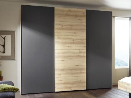 Nolte Attraction Wood Schwebetürenschrank Kleiderschrank mit Holztür- und Glasfront wählbar
