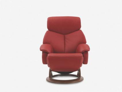 Hukla TV-Sessel CR02, Basisvariante C mit manueller Verstellung in verschiedenen Ausführungen konfigurierbar