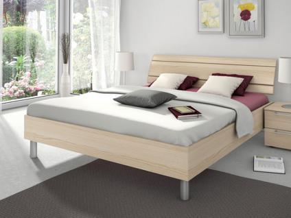 Nolte Sonyo Bett Doppelbett 1 Bettrahmen eckig mit Holz-Rückenlehne 2
