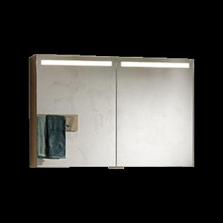 Voglauer V-Montana Badezimmer Spiegelschrank NSS96F 2-türig inklusive Beleuchtung