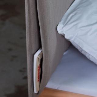 Dico Möbel Massivholzbett Massiva in Kernbuche geölt mit Polsterkopfteil Liegefläche wählbar optional mit Nachttisch - Vorschau 4