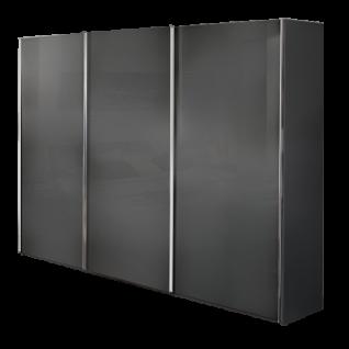 Nolte Möbel Savena / Samia Schwebetürenschrank mit Glasfront Farbausführung und Größe wählbar optional mit Dämpfung