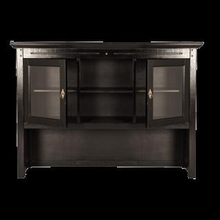 Sit Möbel SAMBA Buffet-Aufsatz mit Türen aus Akazienholz massiv