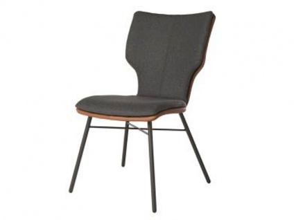 Bert Plantagie Stuhl Joni Four Komfort 712C mit Bi-Color-Mattenpolsterung Polsterstuhl für Esszimmer Esszimmerstuhl Gestellausführung und Bezug in Leder oder Stoff wählbar